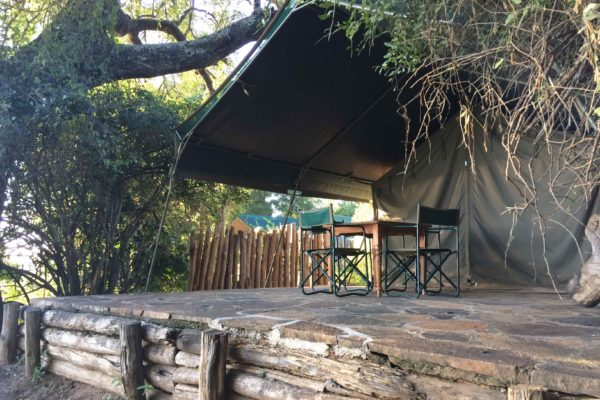 Chipinda Pools tented camps