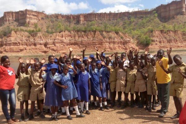Schoolgroup at Chilojo